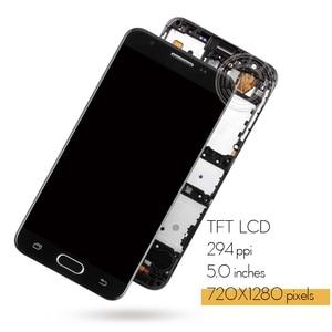 Image 2 - Enkel Gat Originele Display Voor Samsung J5 Prime Lcd Touch Screen Met Frame Voor Samsung Galaxy J5 Prime G570F G570 SM G570F