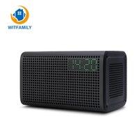 Multifunction Wireless Connection Subwoofer Stereo Mini Speaker USB Charging FM Radio Smart Bluetooth Digital Table Alarm Clock