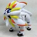 "Novo pokemon sun moon solgaleo plush doll toy l stuffed animal 10 ""presentes pokedoll"