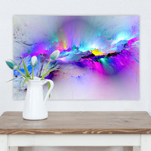 1 Piece Abstract Unreal Pink Cloud Nebula Landscape Picture Modern Home Decorative Wall Artwork Canvas Painting HD Printing Type