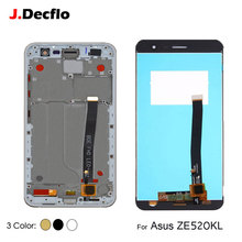 купить LCD Display For Asus ZenFone 3 ZE520KL Z017D Touch Screen Digitizer Assembly Replacement With/No Frame Original 5.2 inch дешево