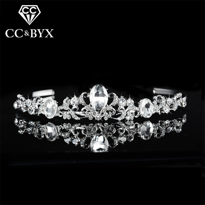Noble Top Shine Austrian Crystal Tiaras Crowns for Women Party Engagement Fashion Wedding Jewelry for Bridal Bijoux Femme F016