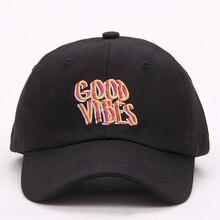 2017 new font b men b font women Good Vibes Dad Hat Embroidered font b Baseball