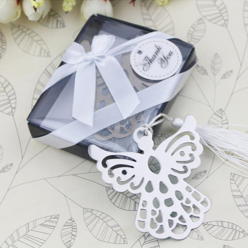 Silver Bookmarks 4 Shapes For Guest / Wedding Favor / Party Gifts Box/birthday Souvenirs/Business Giveawaysss Giveaways