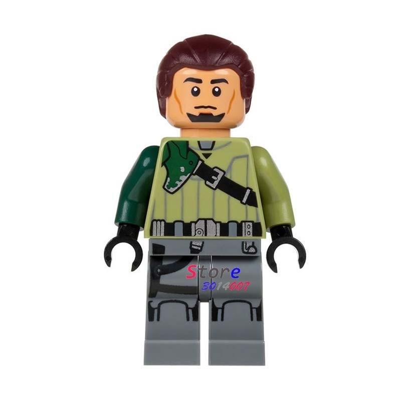50pcs super heroes marvel comics model Star Wars Kanan Jarrus building block bricks for kits kid girls house games children toy