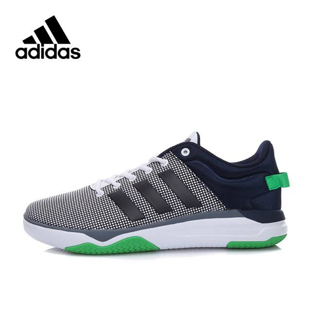 Adidas Official New Arrival 2017 NEO Label Cloudfoam Swish Men's Skateboarding Shoes Sneakers AW4078 BB9866 in Skateboarding from Sports &