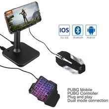 G3 Pubg Gamepad Controller für ios PUBG Mobile Android zu PC Bluetooth USB Tastatur Maus Konverter Stehen für iPad Stecker und Spielen