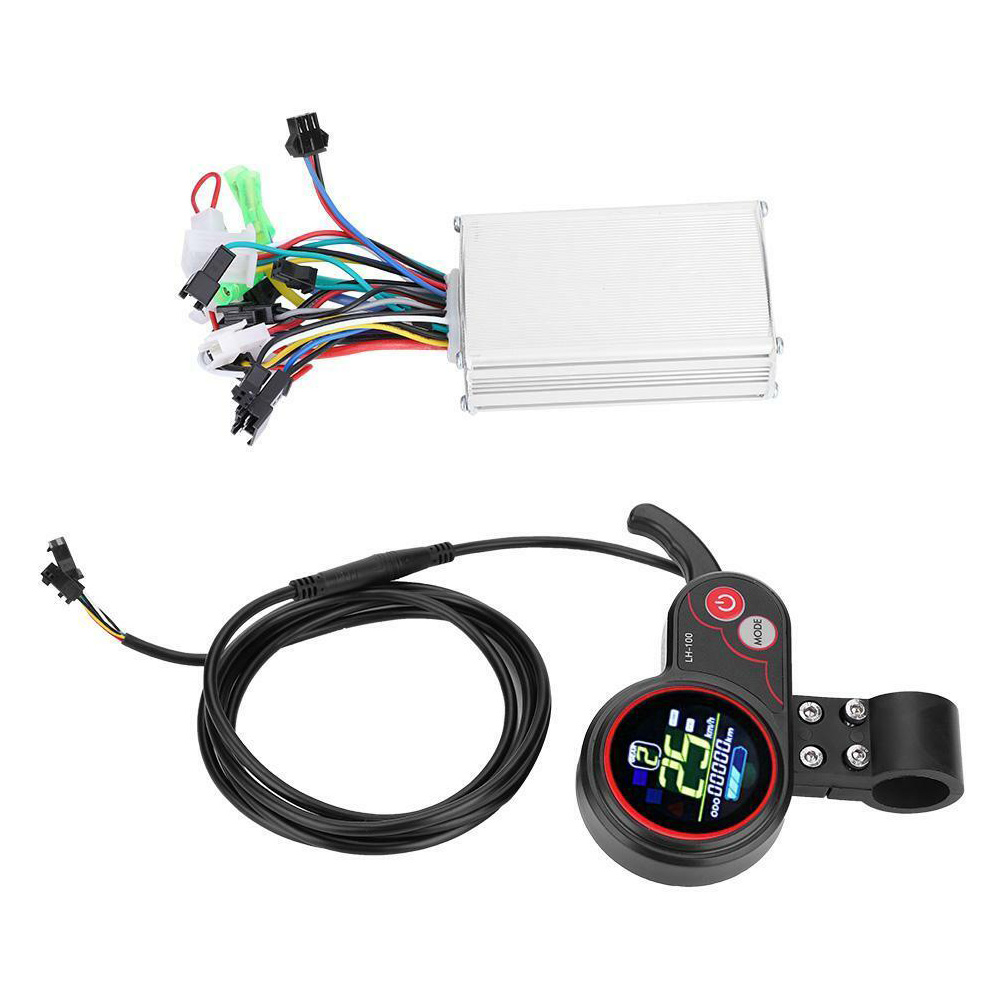 Multiple Setting 24V 36V 48V 60V Electric Bicycle Controller Stable Dual Mode Shift Switch LCD Display