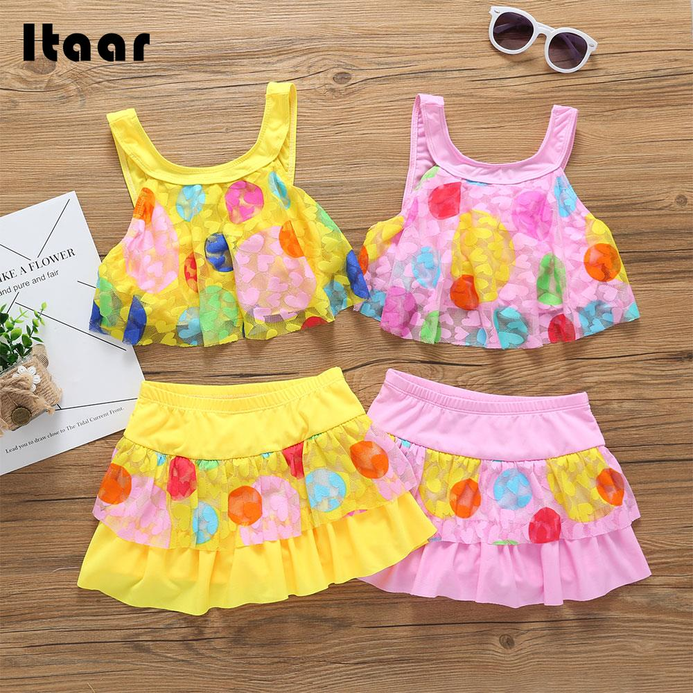 Kids Swimwear Children Swimwear Girls Beachwear Children Pool Laced Comfortable Swimwear Lace