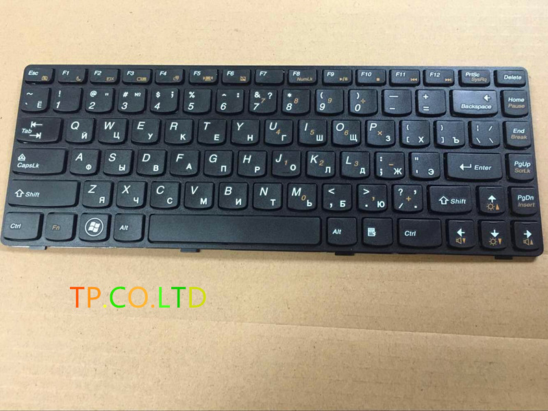 Russia NEW For LENOVO G470 V470 B470 B490 G475 B475E V480C B480 M495 M490 B475 V480 RU Laptop Keyboard