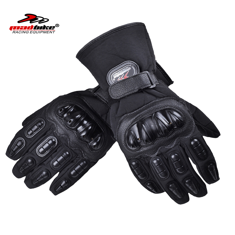 Madbike newest motorcycle <font><b>gloves</b></font> waterproof moto guantes motos motocicleta motorbike ciclismo 100% waterproof windproof