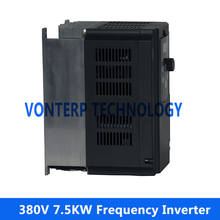 380v 7.5kw VF control frequency converter/VFD/ac drive 60hz 50hz for ac motor