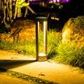 BEIAIDI Водонепроницаемый светодиодный светильник для сада и газона  открытый ландшафтный парк  комьюнити  вилла  лужайка  лампа  алюминий  COB  с...