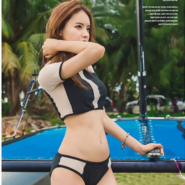 Sexy koreanische große Brüste