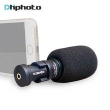 Microphone pour iPhone Smartphone, Ulanzi Comica D'enregistrement Directionnel Mic pour HuaWei Téléphone Intelligent YouTube Vidéo Vlogging