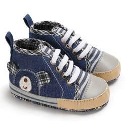 Обувь для новорожденных детская обувь с принтом медведя обувь для малышей для новорожденных детей мягкая подошва Нескользящая детские