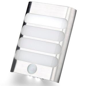 Image 3 - USB Rechargeable Sensor Night Light Wireless PIR Motion Sensor Light Wall Light Lamp Auto On/Off For Hallway Pathway Staircase
