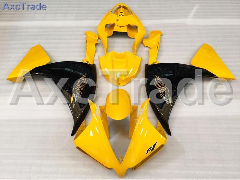 Motorcycle Fairings For Yamaha YZF-R1000 YZF-R1 YZF 1000 R1 2012 2013 2014 YZF1000 ABS Plastic Injection Fairing Bodywork Yellow поршень 04 08 yzf1000 r1
