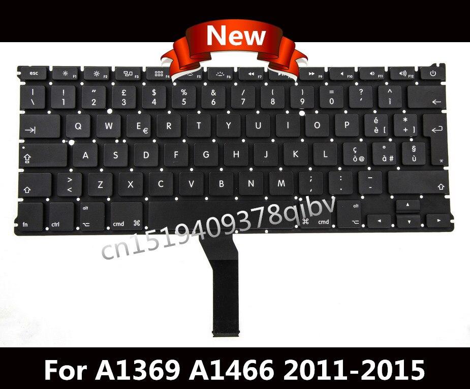 """חדש מקלדת החלפת מחשב נייד עבור ה-macbook Air 13 """"A1369 A1466 מקלדת QWERTY סטנדרטית IT איטלקי 2011 2012 2013 2014"""