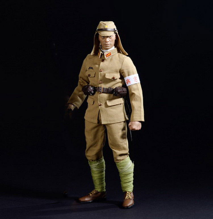 купить 1/6 scale figure doll clothes WWII Japanese army Uniforms for 12
