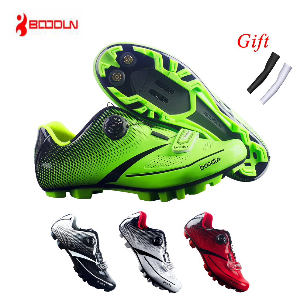 2019 Cycling Shoes MTB Breathable Pro Self Locking Bike Shoes Bicycle Ultralight Athletic Racing Sneakers Sapatilha Ciclismo z5 in Cycling Shoes from Sports Entertainment