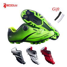 купить 2019 Cycling Shoes MTB Breathable Pro Self-Locking Bike Shoes Bicycle Ultralight Athletic Racing Sneakers Sapatilha Ciclismo z5 дешево