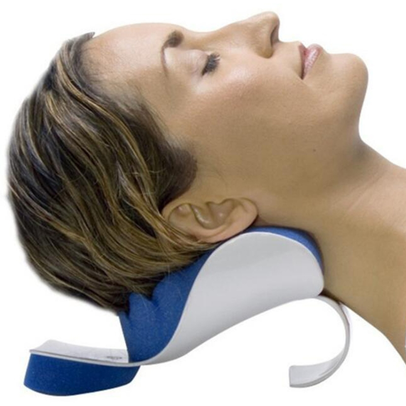 Neck Shoulder Relaxation Pillow Orthopaedic Pain Relief Massage Cushion Support in Massage Relaxation from Beauty Health