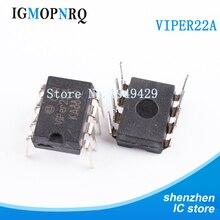 10PCS משלוח חינם VIPer22A DIP8 סיר שבב חדש מקורי