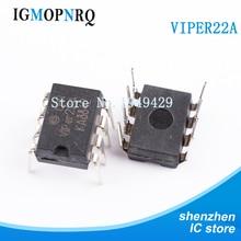 10Pcs Gratis Verzending VIPer22A DIP8 Fornuis Chip Nieuwe Originele
