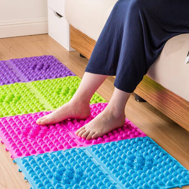plate cover pad good foot l itm new circulation blood mat pressure reflexology massage mats shiatsu toe pebble wonds yoga