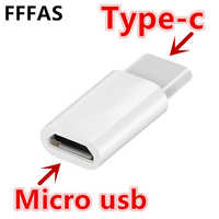 FFFAS USB 3.1 Typ-C Adapter Kabel Micro USB Weiblichen zu Typ c Männlichen USB-C Ladegerät Converter für Xiaomi Mi6 huawei P9 P10 Letv 2