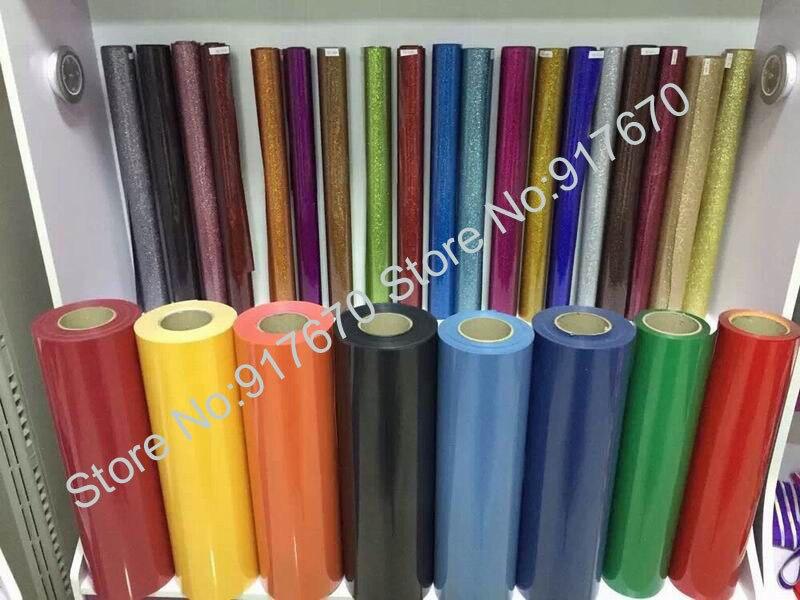 Heat Transfer Vinyl 50CM X 25MRoll PU Grade AA Imported printing film heat press cutting plotter heatpress Tshirt