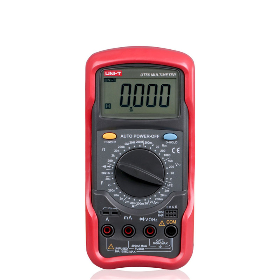 Multimeter For Home : Uni t ut digital multimeter portable voltmeter tester
