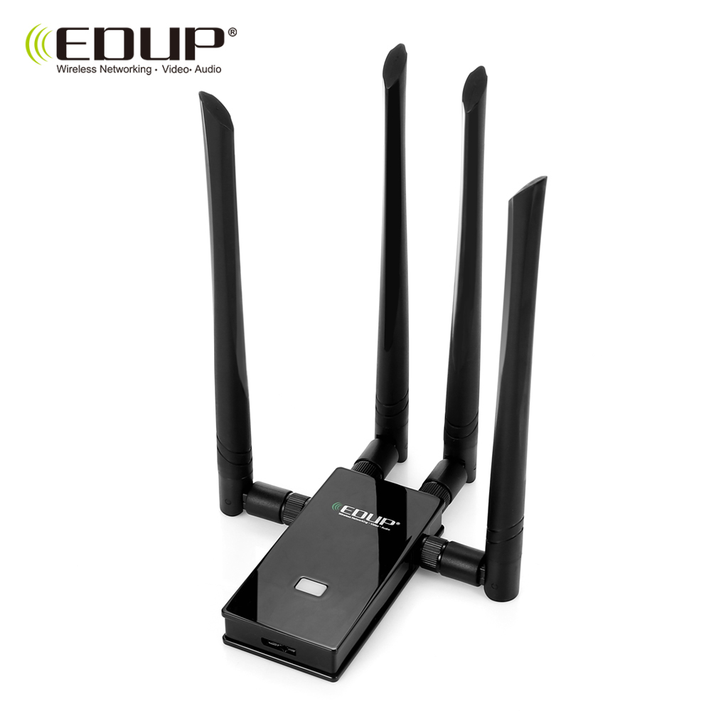 EDUP EP-AC1621 1900 M 2.4/5.8 GHz USB 3.0 Adapter WiFi Dongle Network Portable