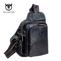 2017 New Arrival Top Cow 100 Genuine Leather Versatile Casual Shoulder Men Messenger Bags For Men