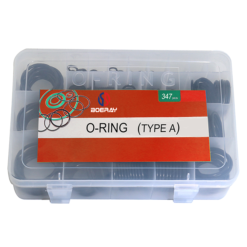 Image 5 - Boerray 347 pieces(30 Size) from 3mm to 44mm Nitrile Rubber NBR O Ring Gasket Ring Assortment KitsGaskets   -