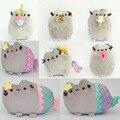 2016 Kawaii Brinquedos Новый Pusheen Кошка Печенье Мороженое и Пончик Русалка единорог 5 Стили Фаршированная & Плюшевые Животных Игрушки для девушки