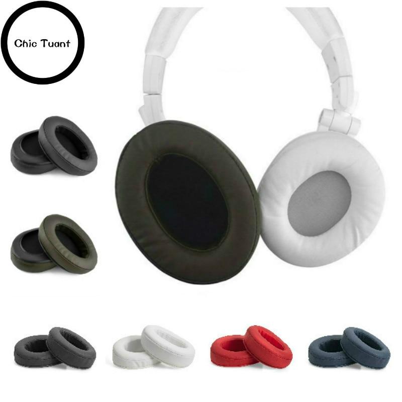 Replacement Ear Pad Ear Cushion Ear Cups Ear Cover Earpads for ATH M50 M50S M50X M30 M40 M35 M20 SX1 40X MSR7 headphones