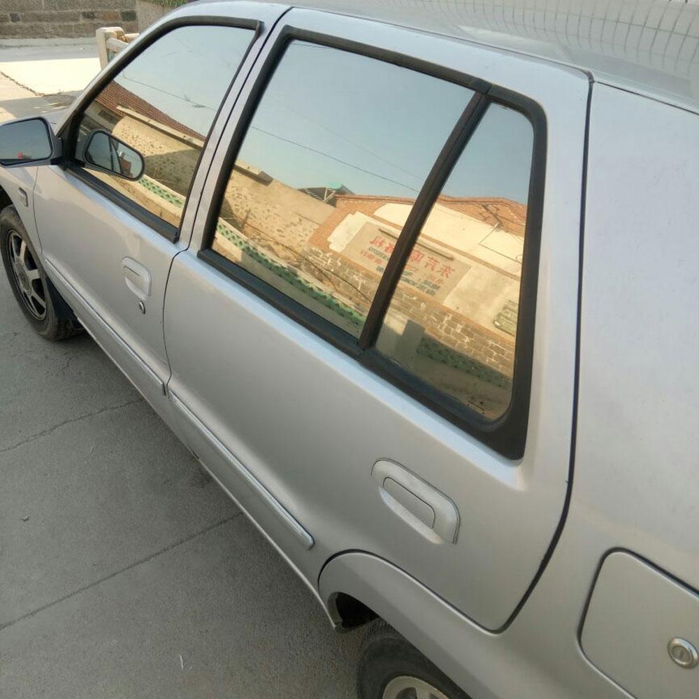 50 * 300CM αντανακλαστική μαύρη μόνωση Αυτοκόλλητο Film Window Ηλιακή μαύρη παράθυρο ηλιακή ταινία Προστασία αυτοκόλλητων ετικεττών αυτοκινήτων