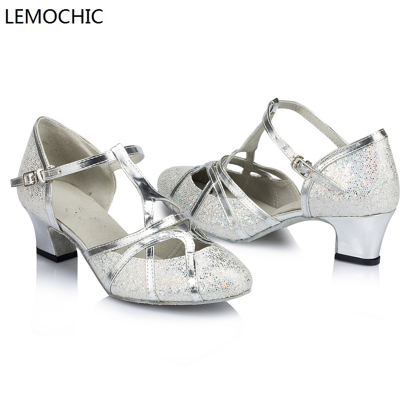 LEMOCHIC hot sale classical ballroom salsa latin tango arena jazz samba rumba tango pointe performance comfortable dance shoes купить