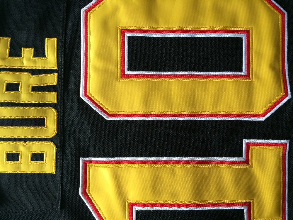 4c6c7b65810 Hot Sale Men's Vancouver Canucks Hockey Jerseys #10 Pavel Bure Jersey Home  Black Vintage White CCM Stitched Jersey A Patch-in Hockey Jerseys from  Sports ...