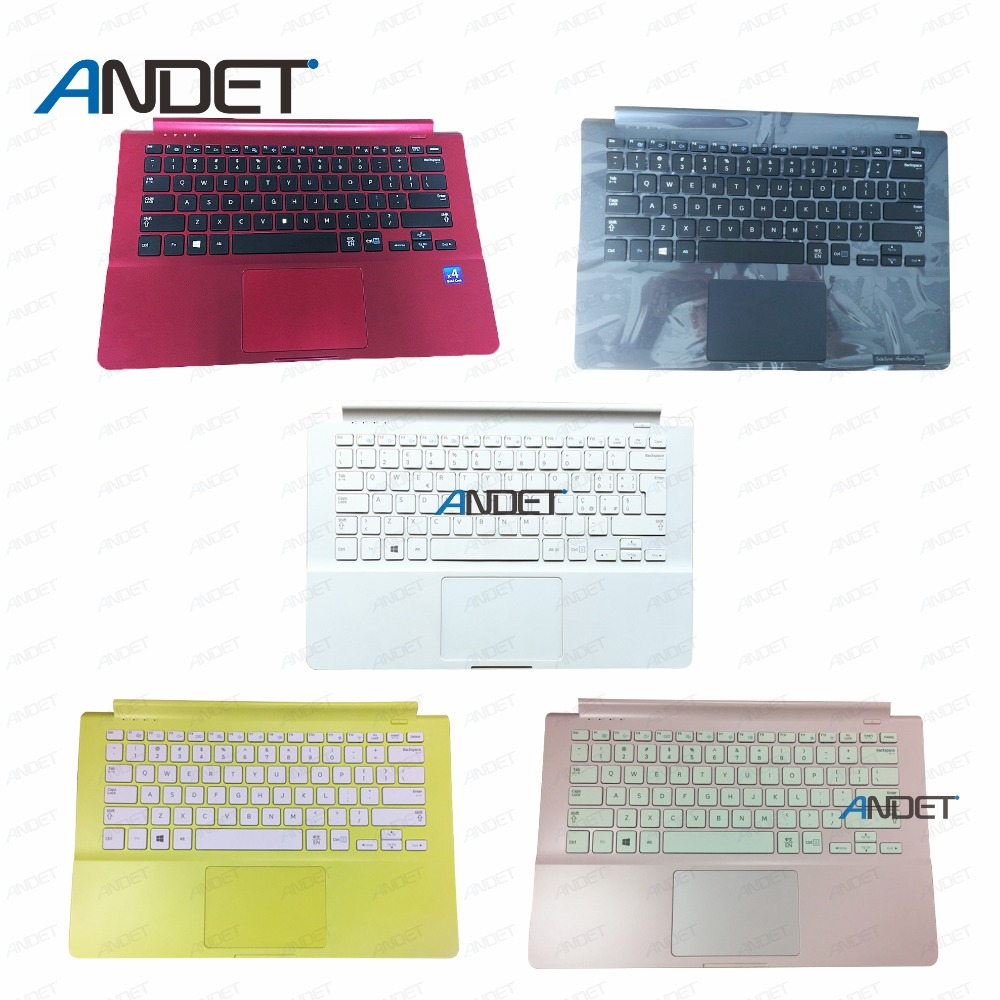 New for SAMSUNG 905S3G 910S3G 915S3G NP905S3G NP910S3G NP915S3G laptop US Keyboard Touchpad Palmrest-in Laptop Bags & Cases from Computer & Office    1