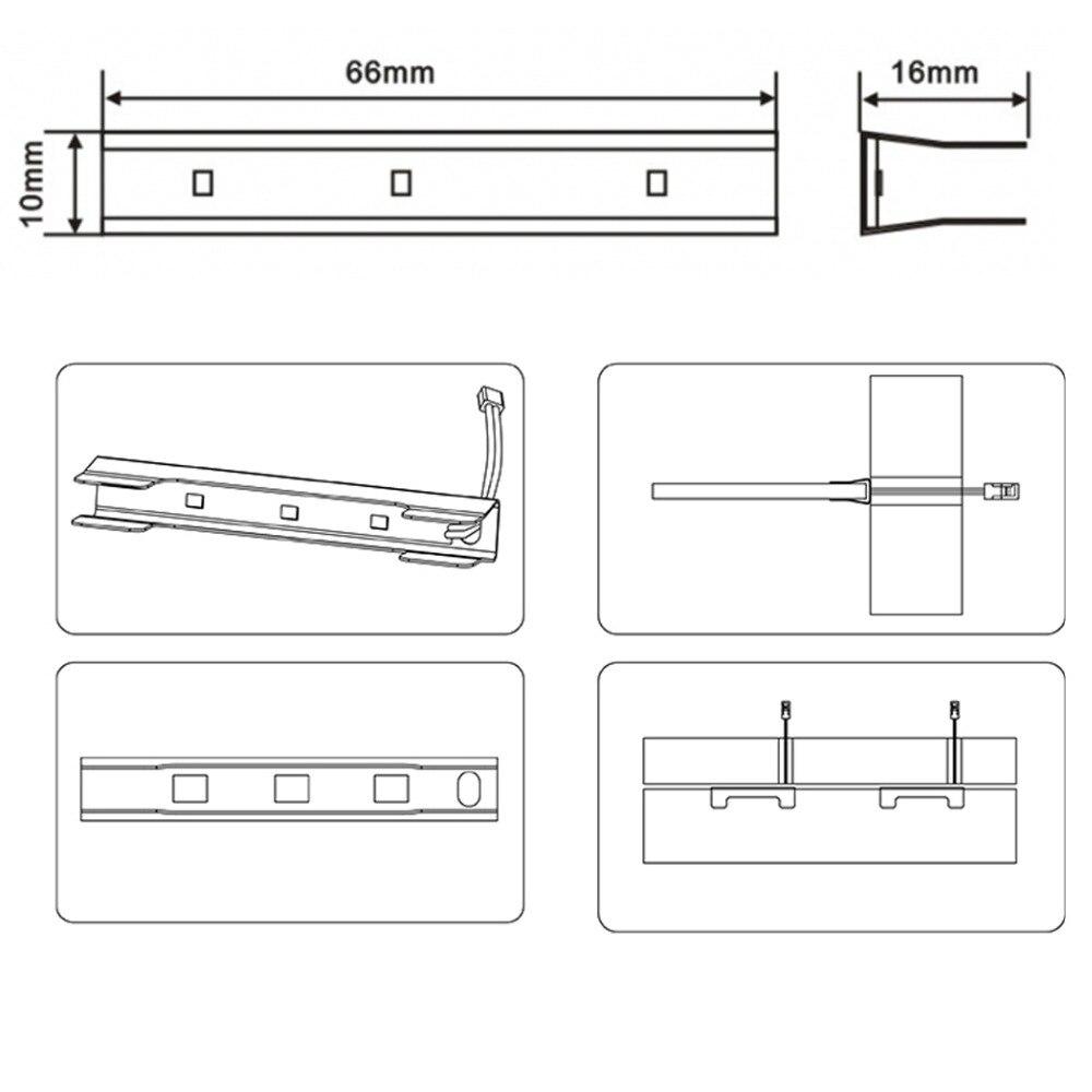 glass clip light instruction