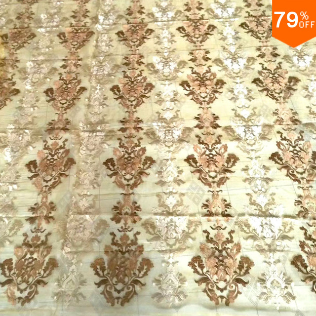 Golden tulle Cortina visillos curtain deurgordijn Best curtain for living room transparent Back Sheet cortinas 3d Voile curtains