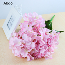 1Pcs Hydrangea Artificial Flowers High simulation EP Material Low price Sale big Flowers home decoration accessories home decorative high simulation ombre artificial flowers