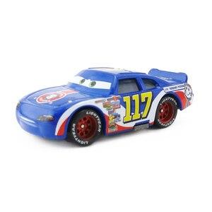 Image 5 - Disney Pixar Cars Racers Chick Hicks Lightning Mcqueen Koning NO.4 NO.123 1:55 Metal Diecast Speelgoed Auto Model Voor Jongens Kinderen Gift