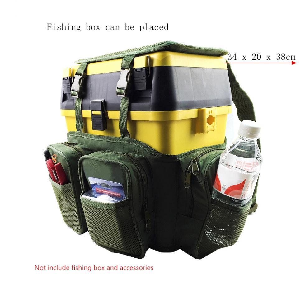 de pesca tecido nailon mochila saco 05