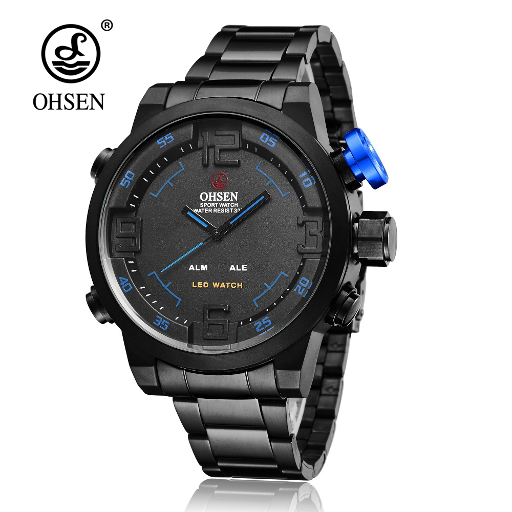Original OHSEN Quartz Mens Watch