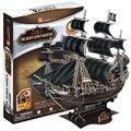 Новые Приходят 3D DIY детей игрушки головоломки бумажная модель комплекты карибский Пиратский Корабль Модель Модель лодки Черный Жемчуг королева месть MC106h
