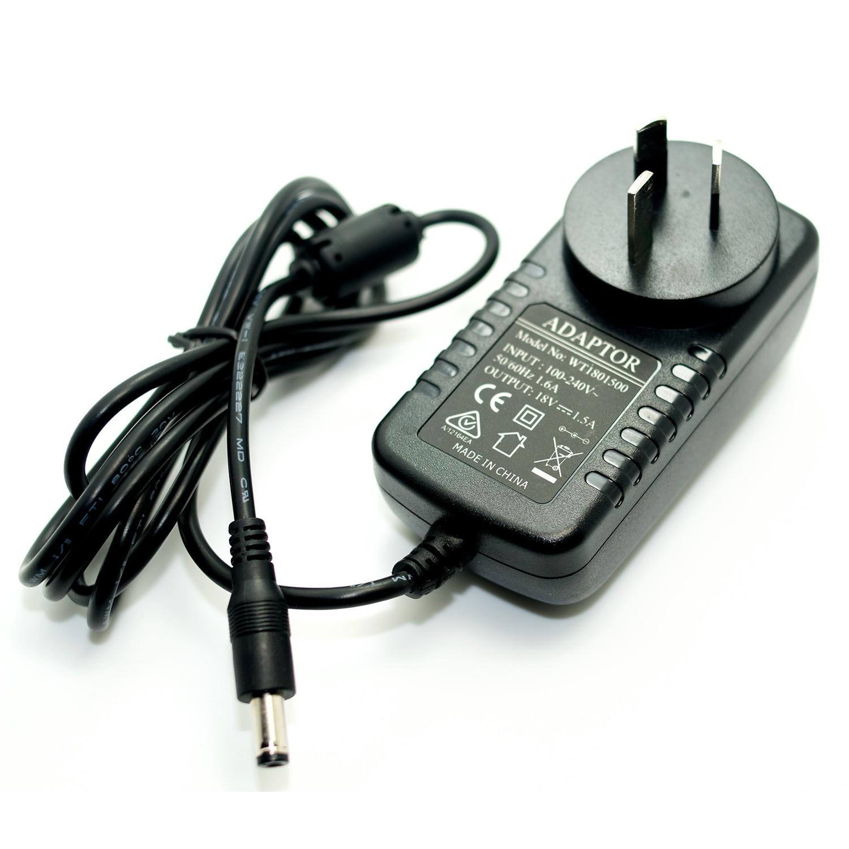 18V 1.5A Power Adapter Negative Center Noiseless 1500mA Power Supply 100-240V Converter AU Plug I Type For Guitar Effect Pedal autoeye cctv camera power adapter dc12v 1a 2a 3a 5a ahd camera power supply eu us uk au plug